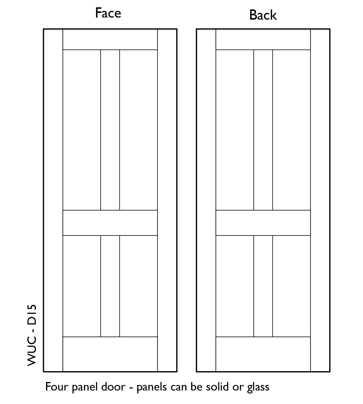 100 solid oak 4 panel doors fire doors fire rated wood door