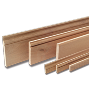 Character Oak Skirting and Architrave