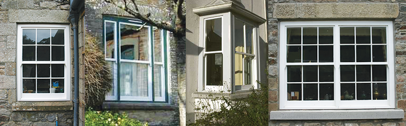 Wood sliding sash windows