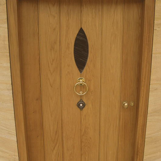 Wooden Frame Ledge and Braced Doors - DOOR FLB image