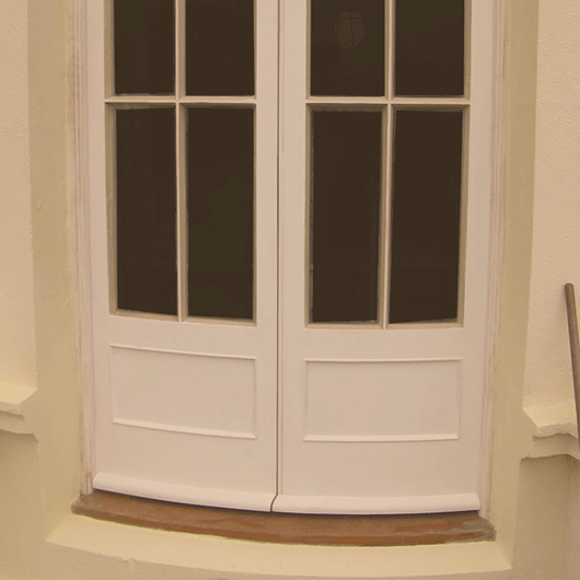 Wooden Single Glazed Doors - DOOR | BESPOKE | SINGLE GLAZED image