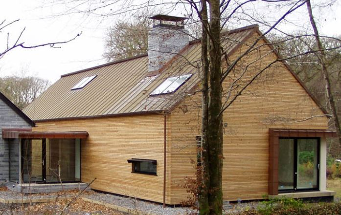 Larch Cladding 1