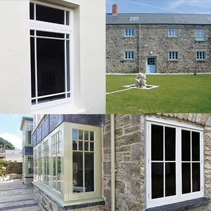 Bespoke Wood double glazed windows