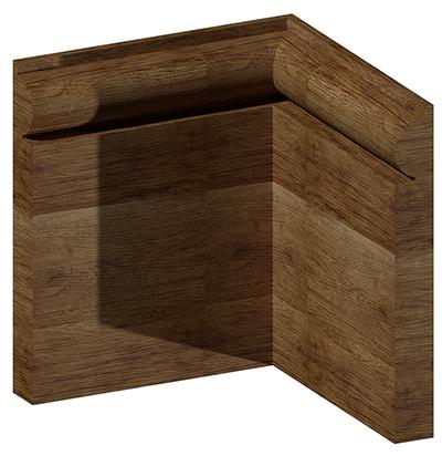 Torus skirting board multiple wood option skirting sb104 for Wood skirting