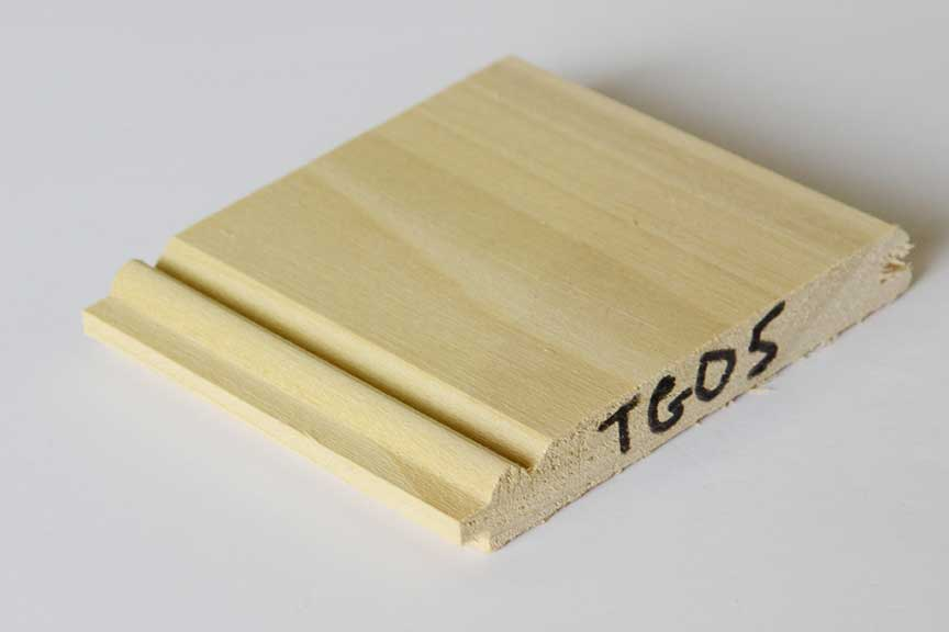 Bead And Butt Boarding Tongue And Groove Timber Tg05