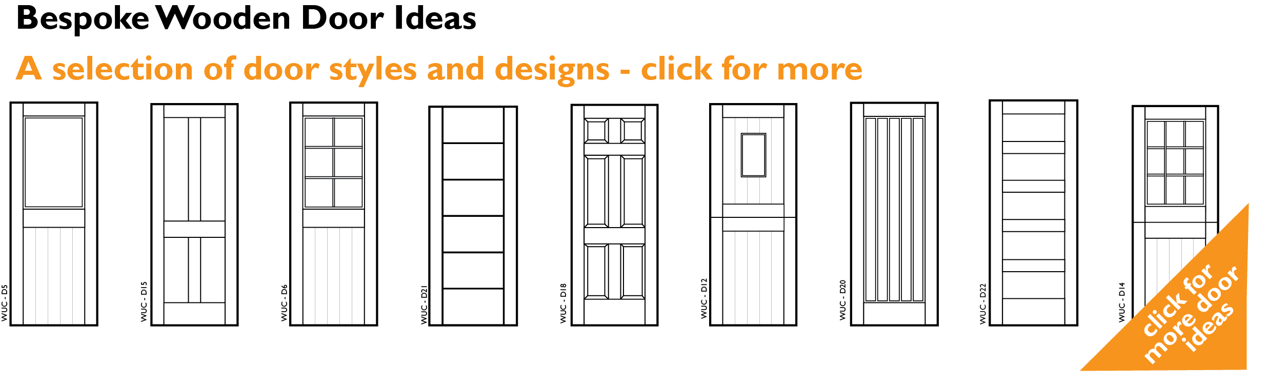 Wood door ideas