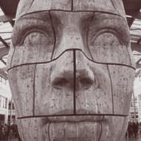 Abstract Wood Art image