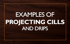 Blog Post: Examples of wooden projecting cills and drips