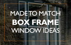Blog Post: Made to match sliding sash, box frame window ideas